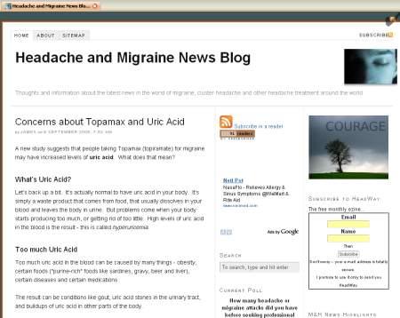 The Headache and Migraine News Blog