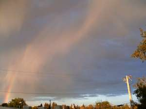 Weather headache - is there a rainbow in the clouds?